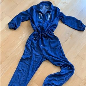 Blue jumpsuit never been worn